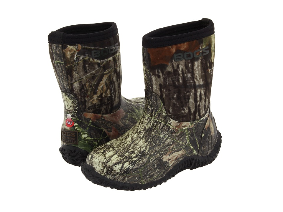 Bogs Kids - Classic Mid No Handle (Toddler/Little Kid/Big Kid) (Mossy Oak) Boys Shoes