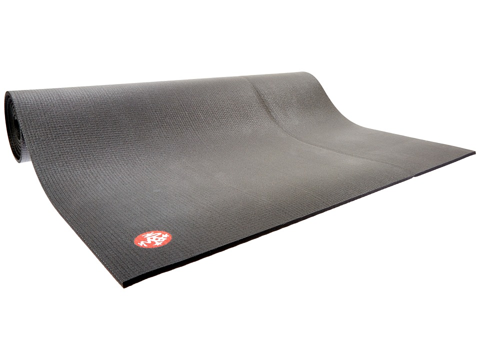 Manduka Manduka PRO Black Yoga Mat Long Black Outdoor Sports Equipment