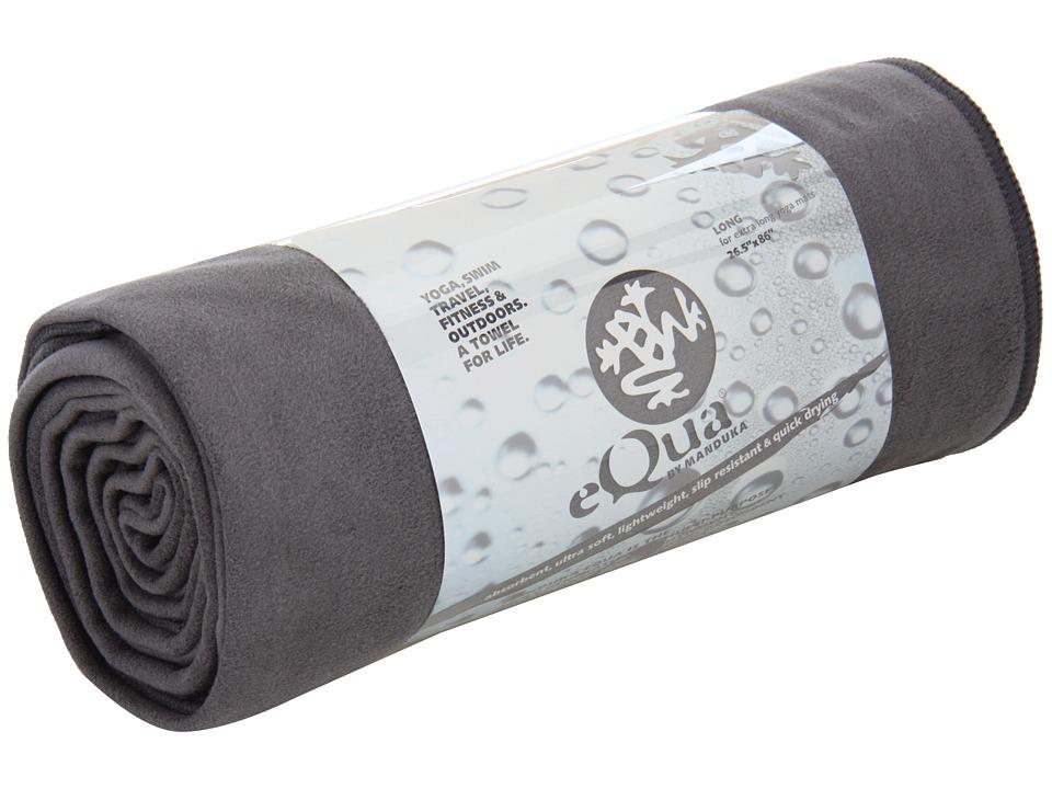 Manduka eQua Mat Towel Extra Long Thunder Athletic Sports Equipment