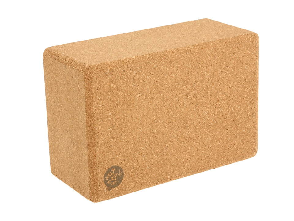 Manduka Cork Yoga Block Natural Athletic Sports Equipment