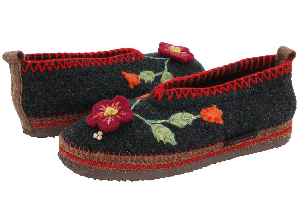 Giesswein Spital (Charcoal) Slippers