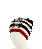 San Diego Hat Company Kids - Striped Beanie w/ Skull (Toddler)