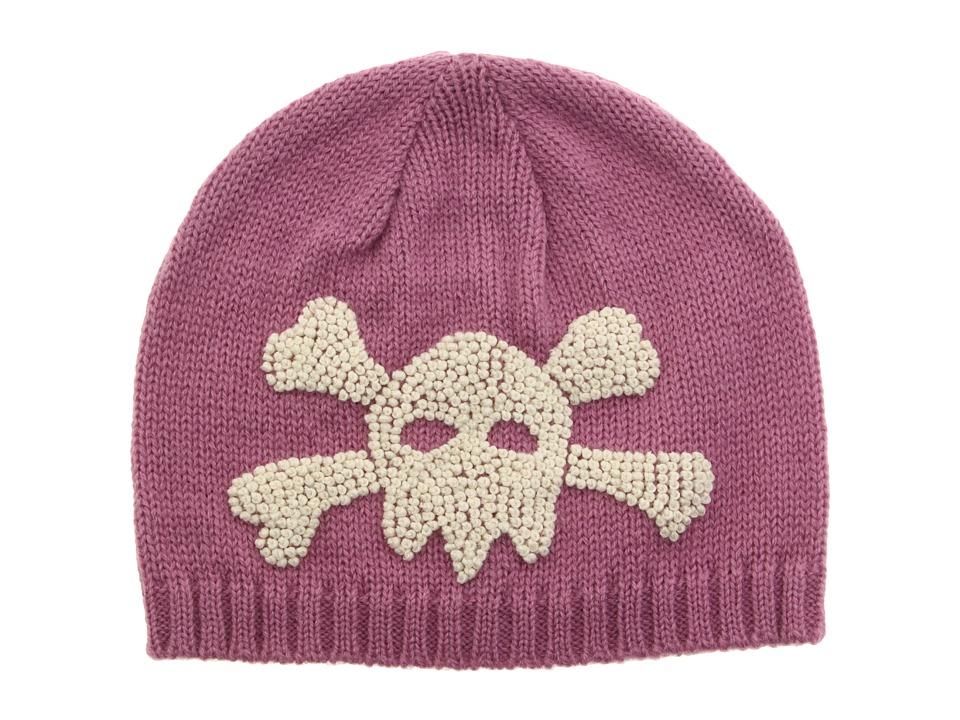 San Diego Hat Company Kids - Skull Beanie (Pink) Beanies