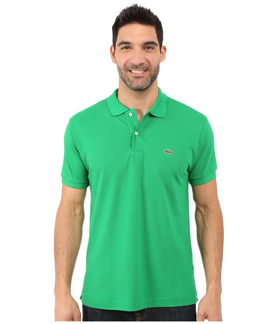 Lacoste - L1212 Classic Pique Polo Shirt (Chlorophyll Green) Men