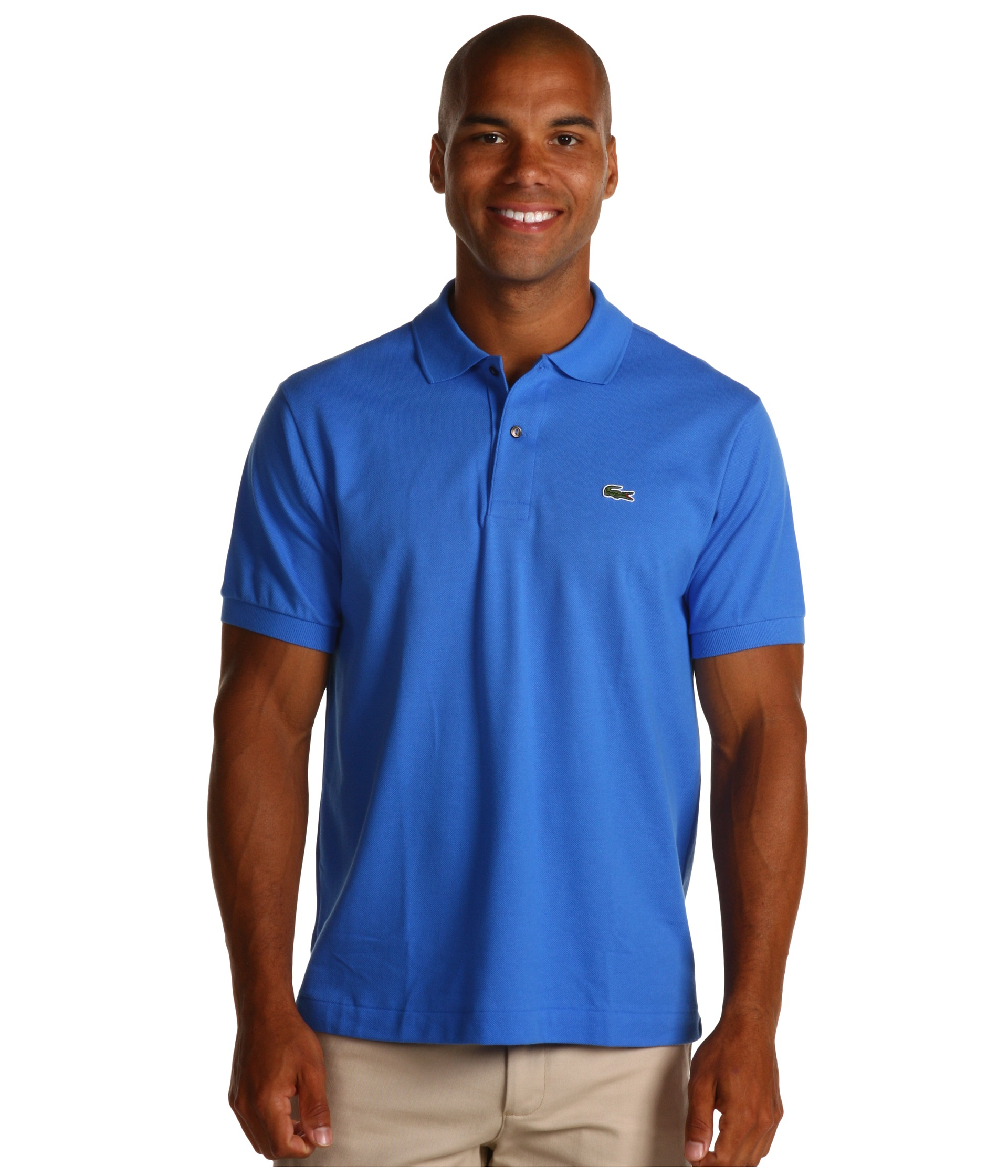 Lacoste classic pique polo shirt shipped free at zappos for Lacoste size 4 polo shirt