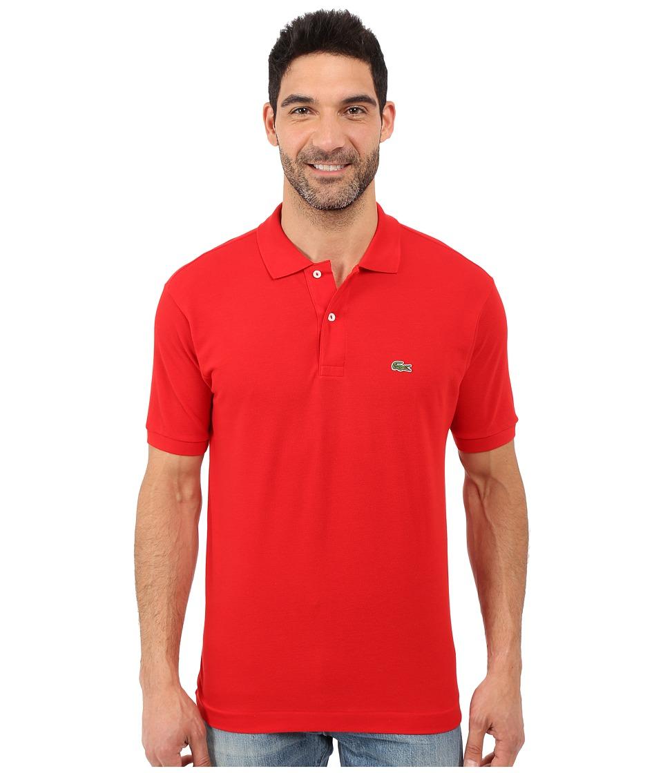 Lacoste - L1212 Classic Pique Polo Shirt (Red) Men