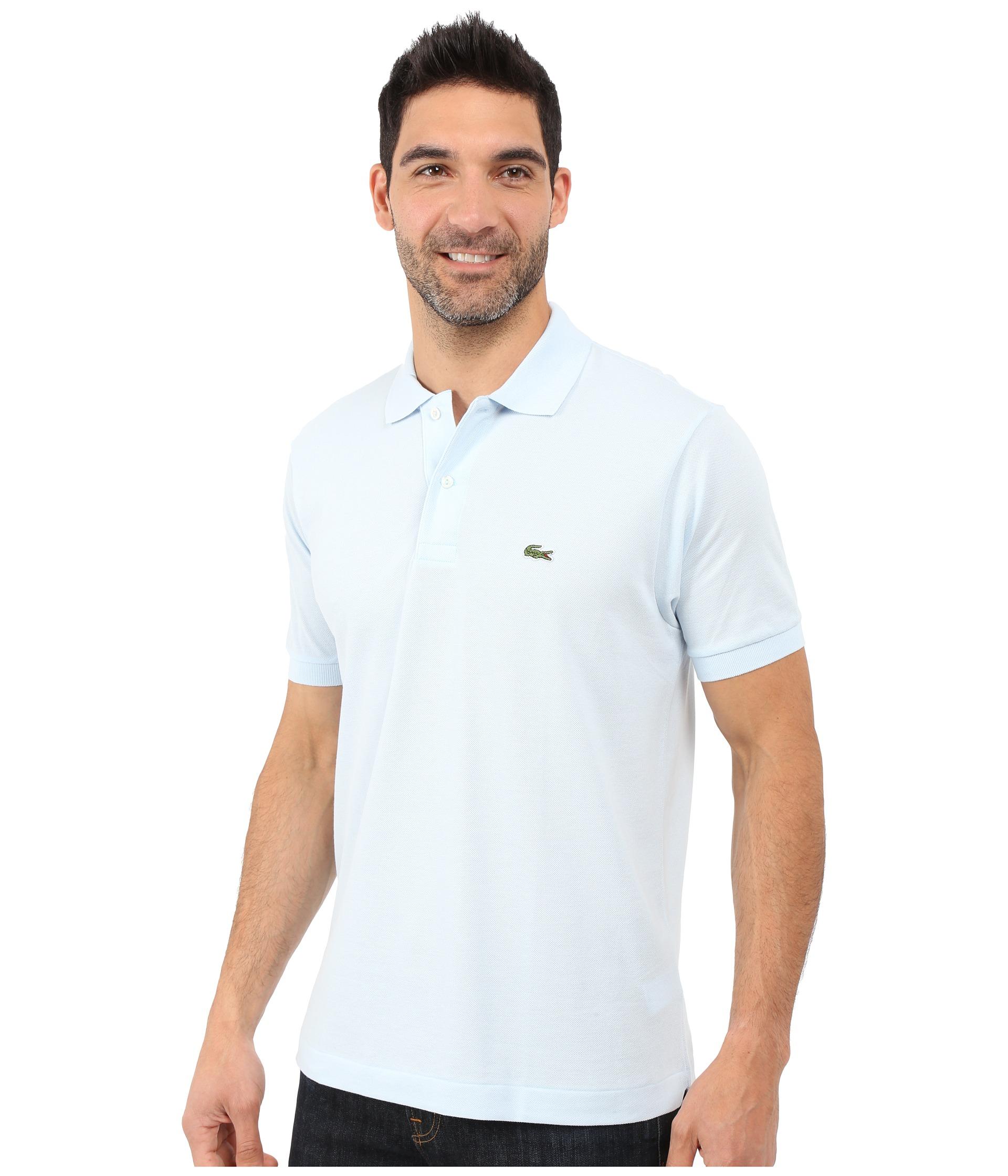 Рубашка поло лакост 6