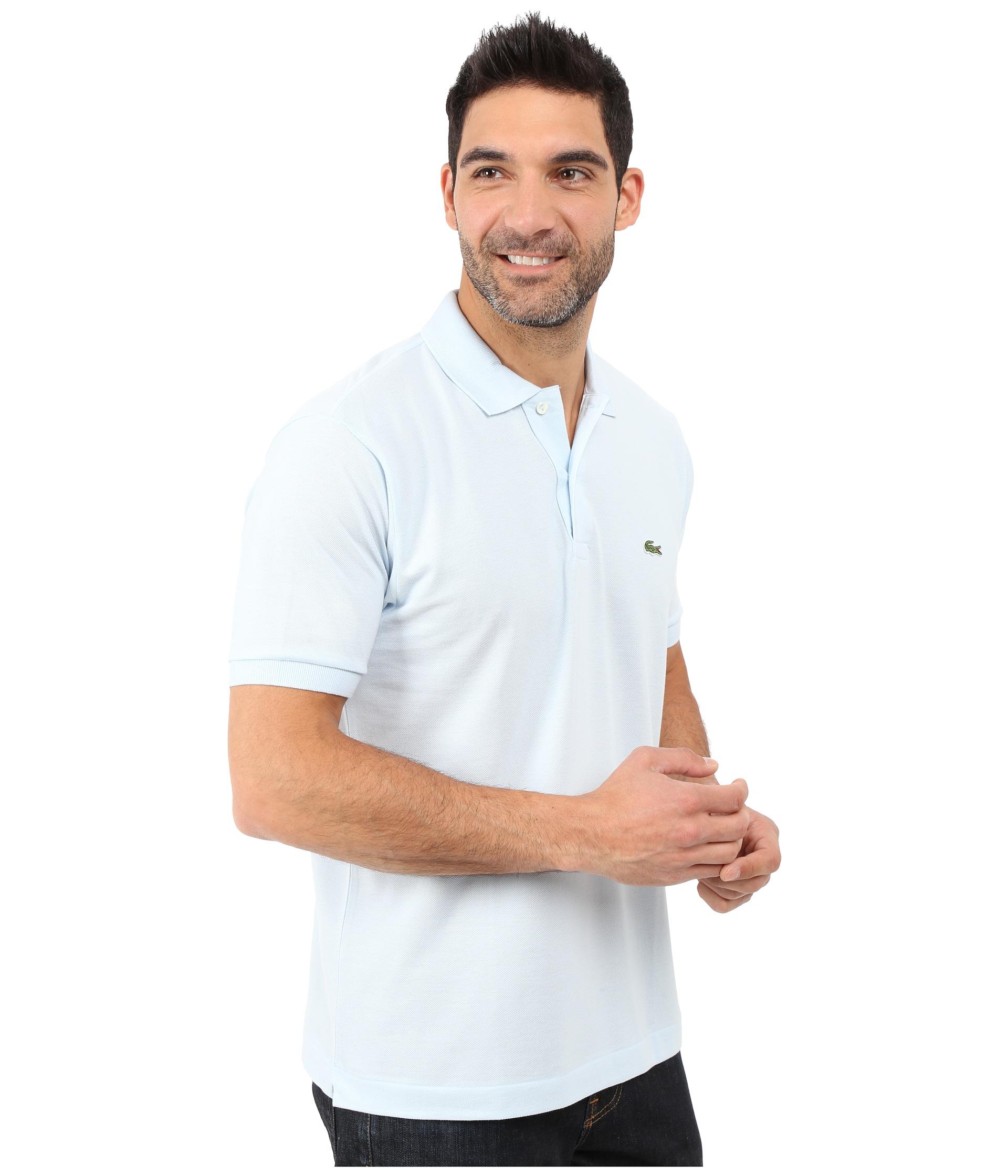 Рубашка поло лакост 8