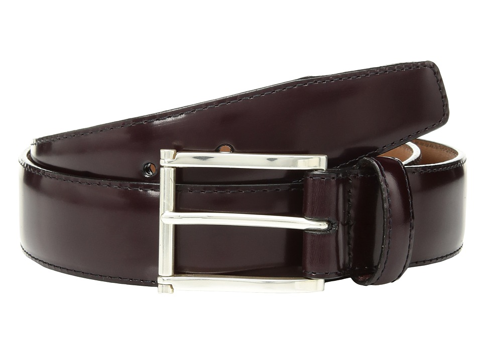 Brighton - Prescott Belt (Burgundy) Mens Belts