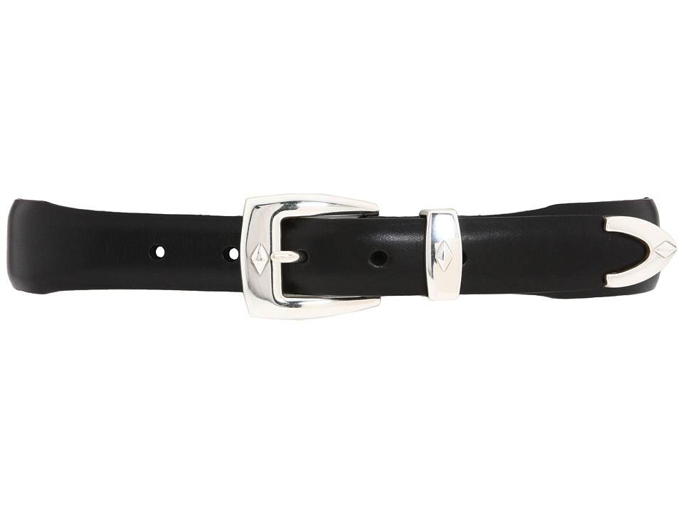 Brighton - Denver Diamond Belt (Black) Mens Belts