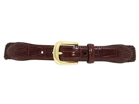 Brighton Elastic Cord Croco Tab Taper Belt