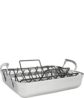 Calphalon - Contemporary Stainless Steel Roaster w/ V Rack