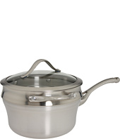Calphalon - Contemporary Stainless Steel 2.5 Qt. Saucepan & Double Boiler