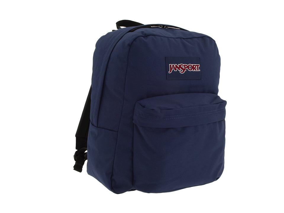 JanSport Spring Break Navy Backpack Bags