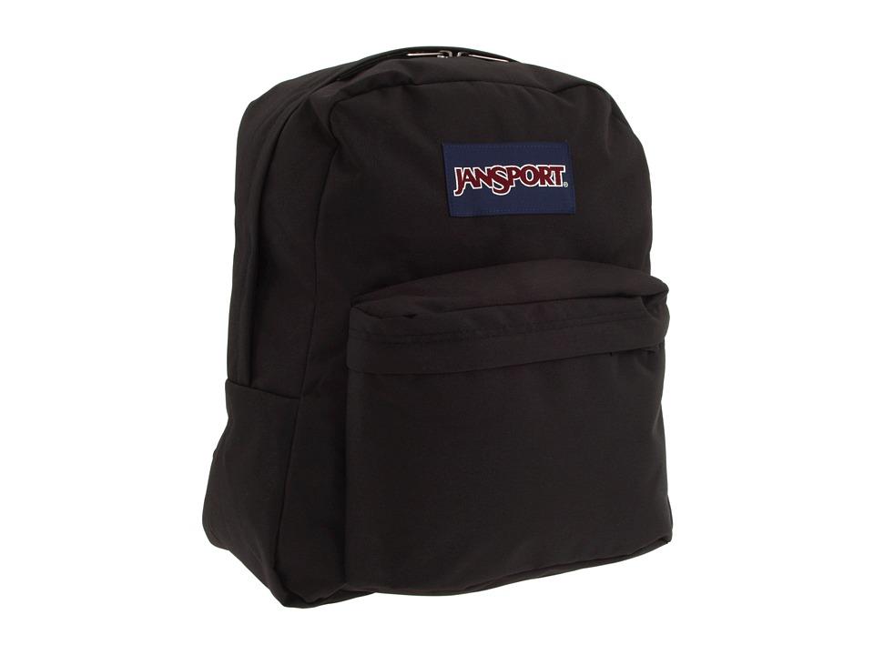 JanSport Spring Break Black Backpack Bags