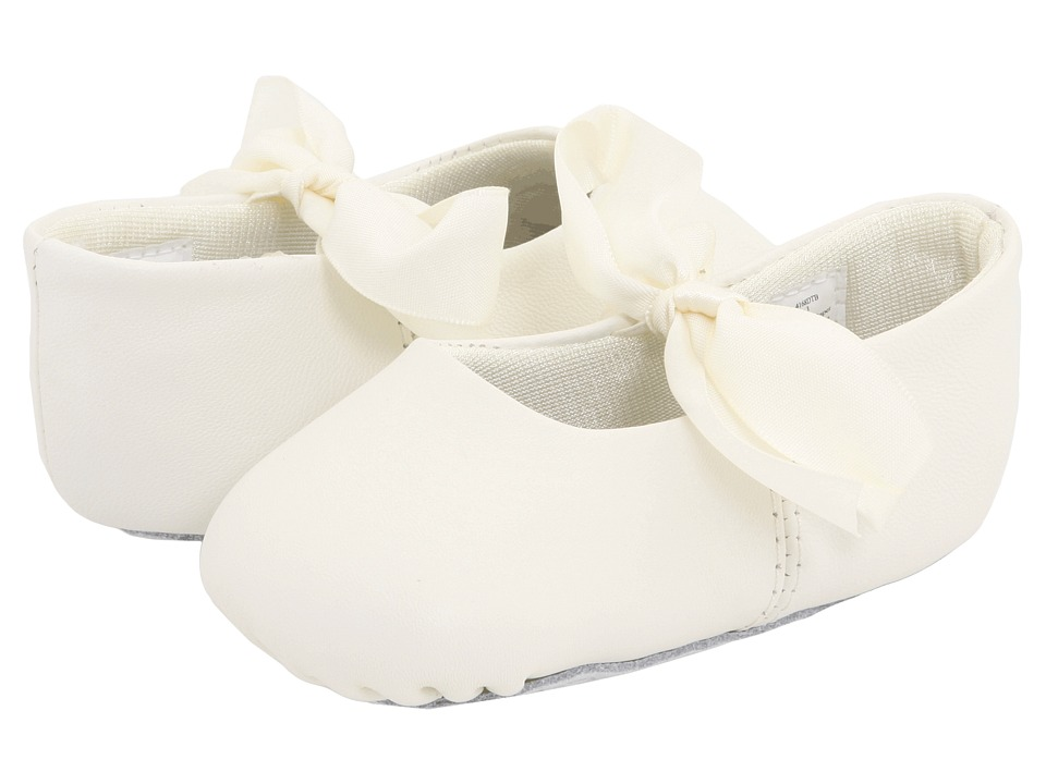 Baby Deer - Sabrina Ballet (Infant) (Ivory) Girls Shoes