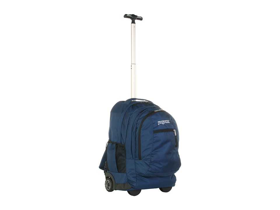 JanSport Driver 8 Wheeled Navy Backpack Bags