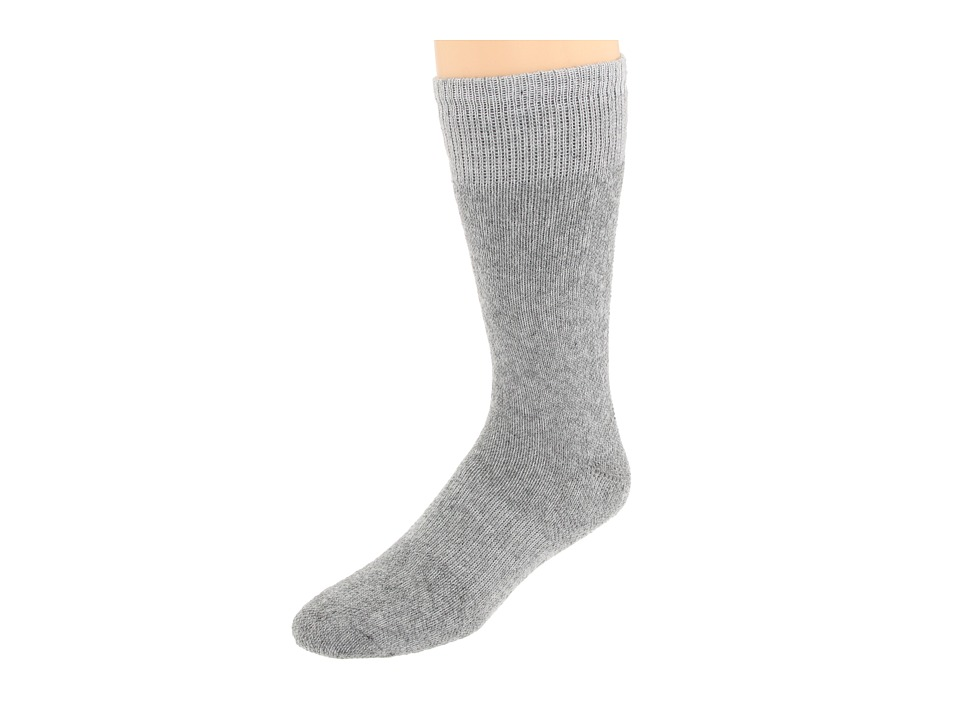 Fox River Heavy Duty Thermal Boot Crew 2 Pair Pack Grey Crew Cut Socks Shoes