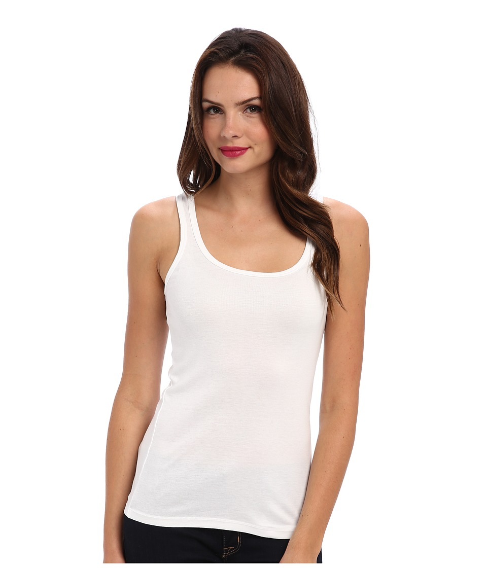 Splendid 1x1 Tank Top (White) Women