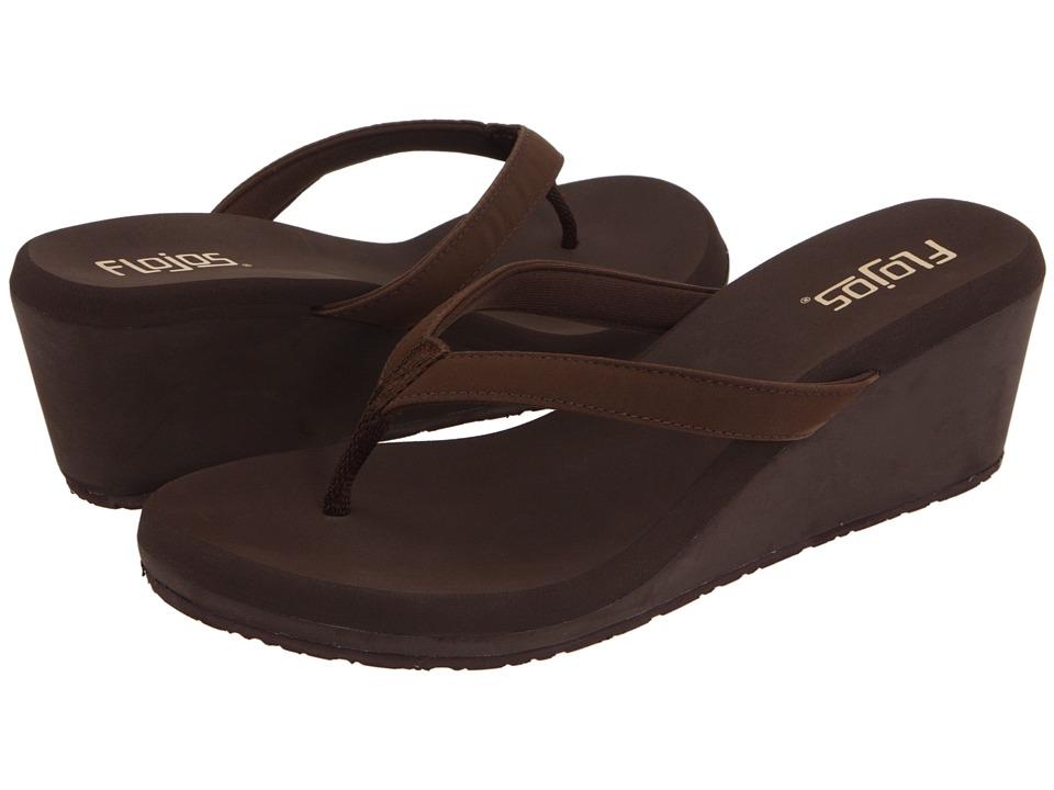 Flojos Olivia (Brown) Sandals