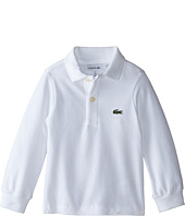 Lacoste Kids - Long Sleeve Classic Pique Polo Shirt (Toddler/Little Kids/Big Kids)