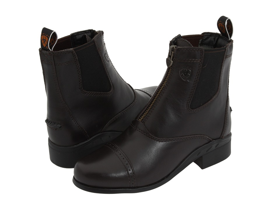 Ariat English Kids Devon III (Little Kid/Big Kid) (Chocolate) Cowboy Boots