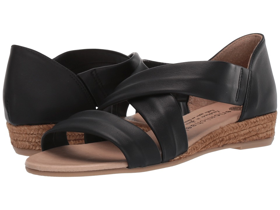 Eric Michael Netty (Black) Sandals