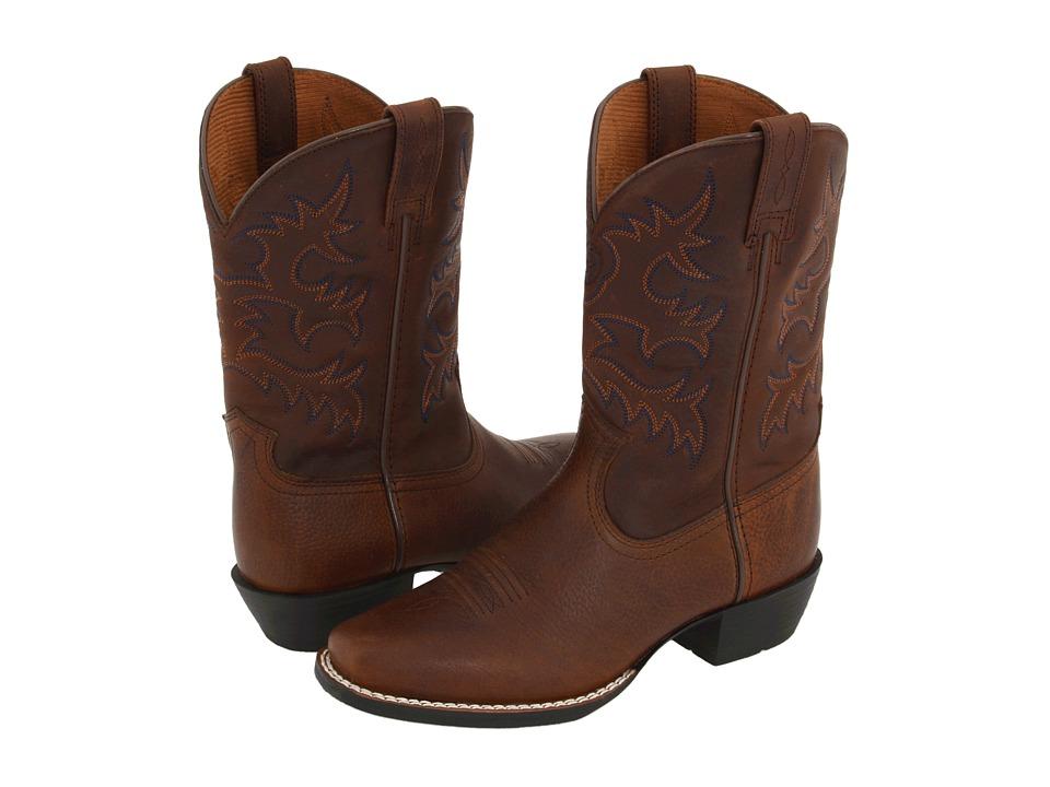 Ariat Kids Legend Toddler/Little Kid/Big Kid Brown Oiled Rowdy/DSW Cowboy Boots