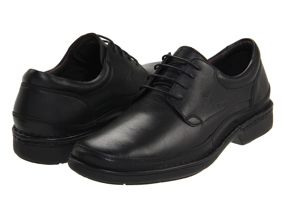 Pikolinos - Oviedo 08F-5013 (Black) Mens Lace up casual Shoes