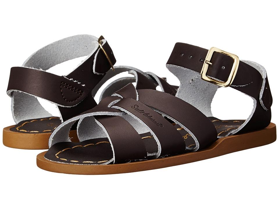 Salt Water Sandal by Hoy Shoes - The Original Sandal (Infant/Toddler) (Brown) Kids Shoes