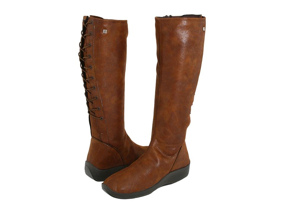 Arcopedico L31D (Brown Lytech) Women's Zip Boots