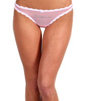 Betsey Johnson - Sheer Marquisette Bridal Thong 722033