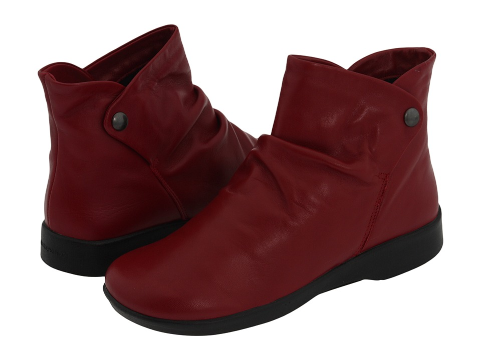 Arcopedico N42 (Cherry Leather) Women's Boots
