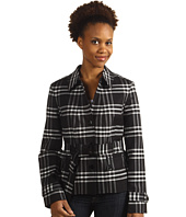 Jones New York - Plaid Belted Coat