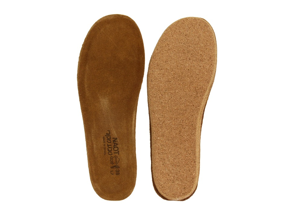 Naot - FB08 - Allegro Replacement Footbed (Natural) Womens Insoles Accessories Shoes