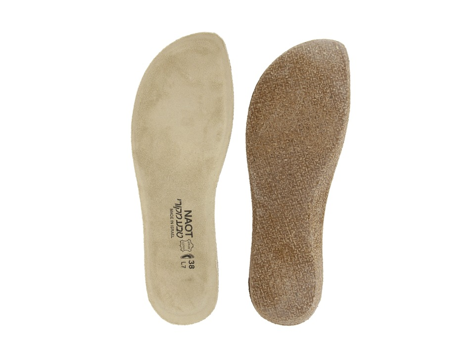 Naot - FB03 - Shell Replacement Footbed (Natural) Womens Insoles Accessories Shoes