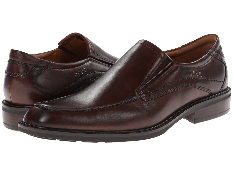 ECCO Windsor Apron Slip-On (Cocoa Brown) Men