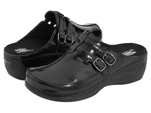 Spring Step Happy - Black Patent
