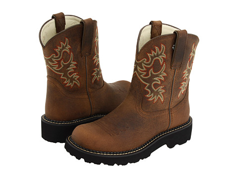 Fatbaby (Distressed Brown) Cowboy Boots by Ariat. Style: Women&39s