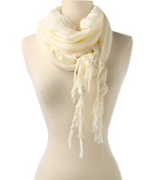 Love Quotes - Linen Eyelash Fringe Scarf