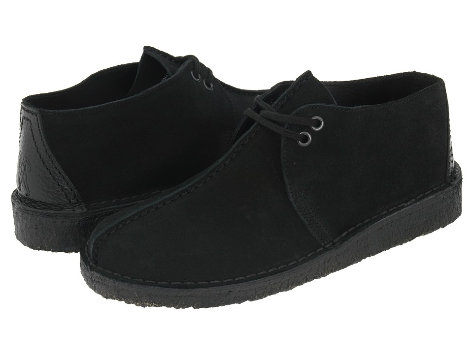 Clarks - Desert Trek (Black Suede) Men