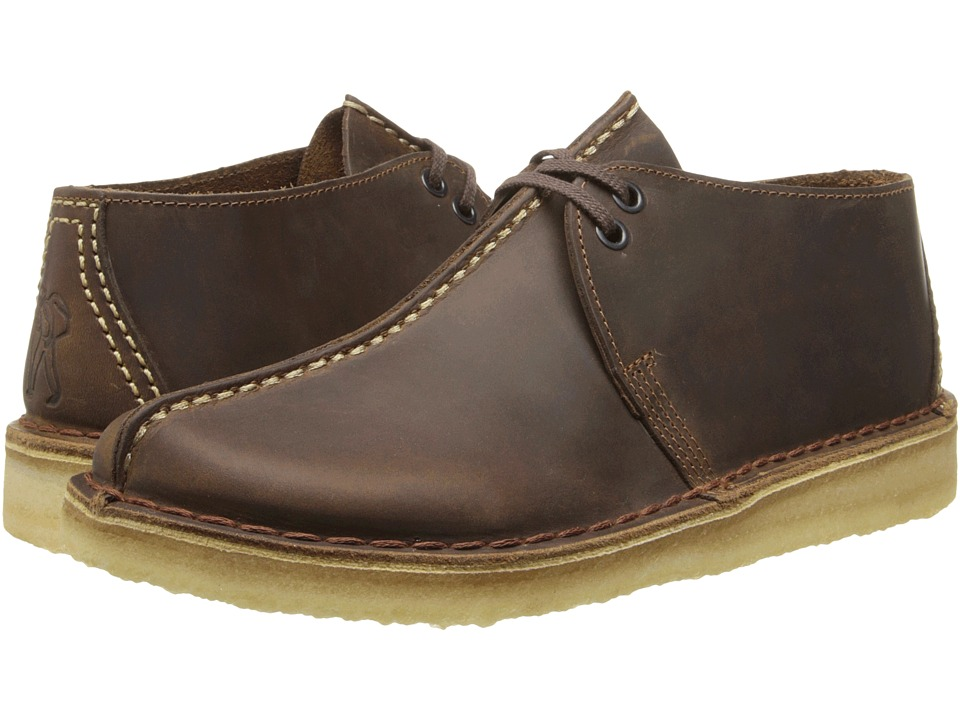 Clarks Desert Trek (Beeswax Leather) Men's Lace-up Boots
