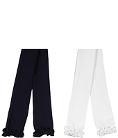 Jefferies Socks - Ruffle Pima Capri 2-Pair Pack (Infant/Toddler/Little Kids/Big Kids)
