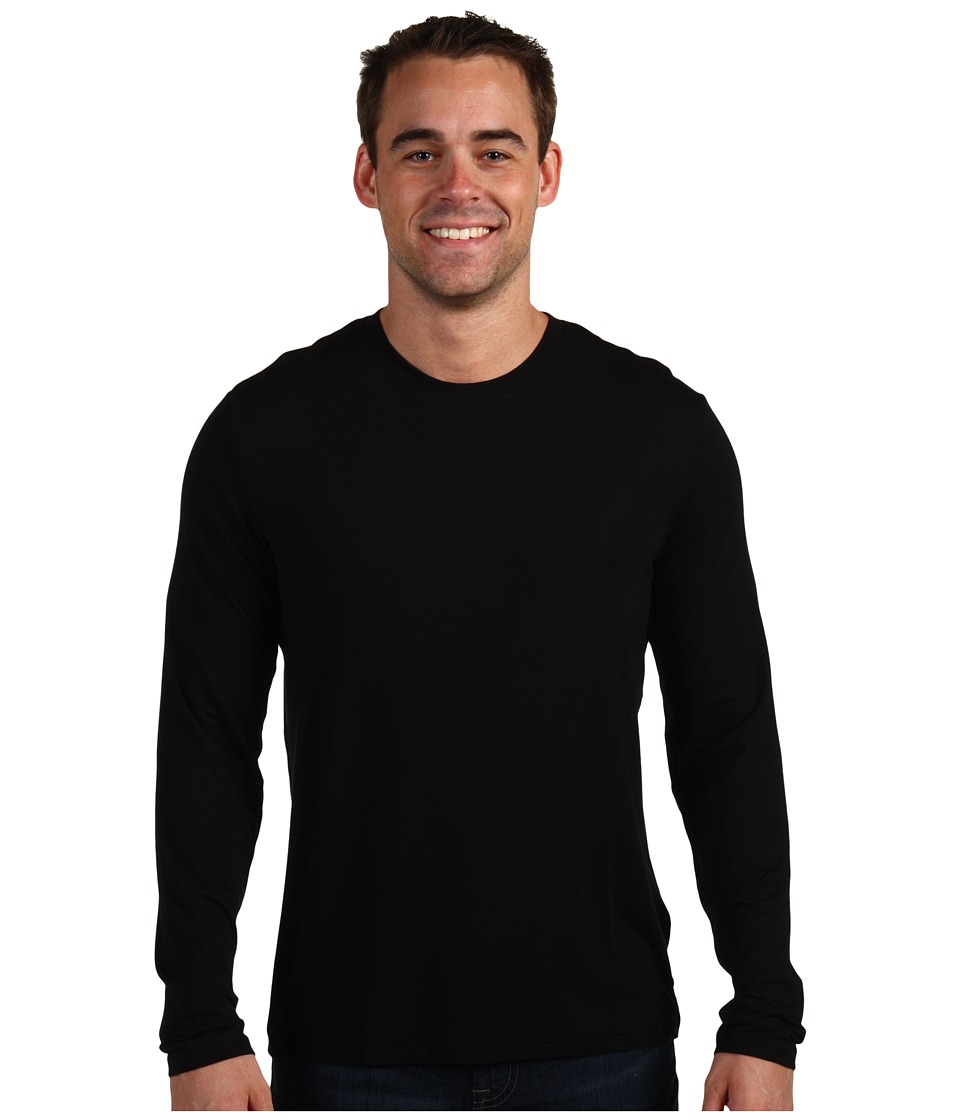 BOSS Hugo Boss Innovation 5 L/S Crew Neck Shirt Black Mens Pajama