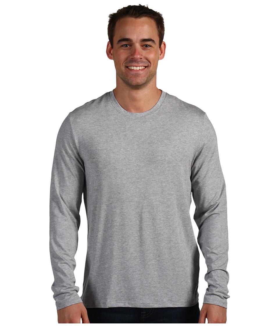 BOSS Hugo Boss Innovation 5 L/S Crew Neck Shirt Medium Grey Mens Pajama