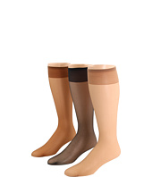 Jefferies Socks - Sandal Foot Knee High 12-Pair Pack (Youth/Adult)