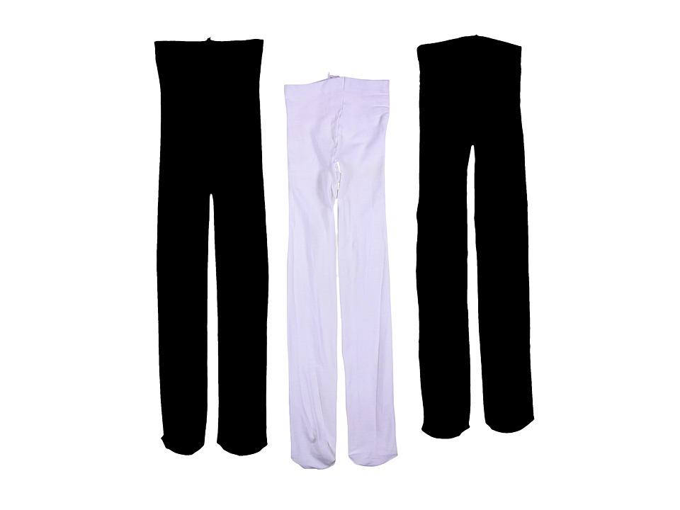 Jefferies Socks - Pima Cotton Tights 3-Pair Pack
