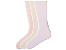 Jefferies Socks Pima Cotton Tights 3-Pair Pack (Infant/Toddler/Little Kid/Big Kid)
