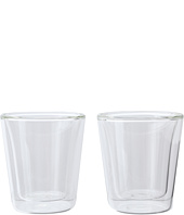 Bodum - CANTEEN, 6 oz. Double Wall Glass, Set of 2.
