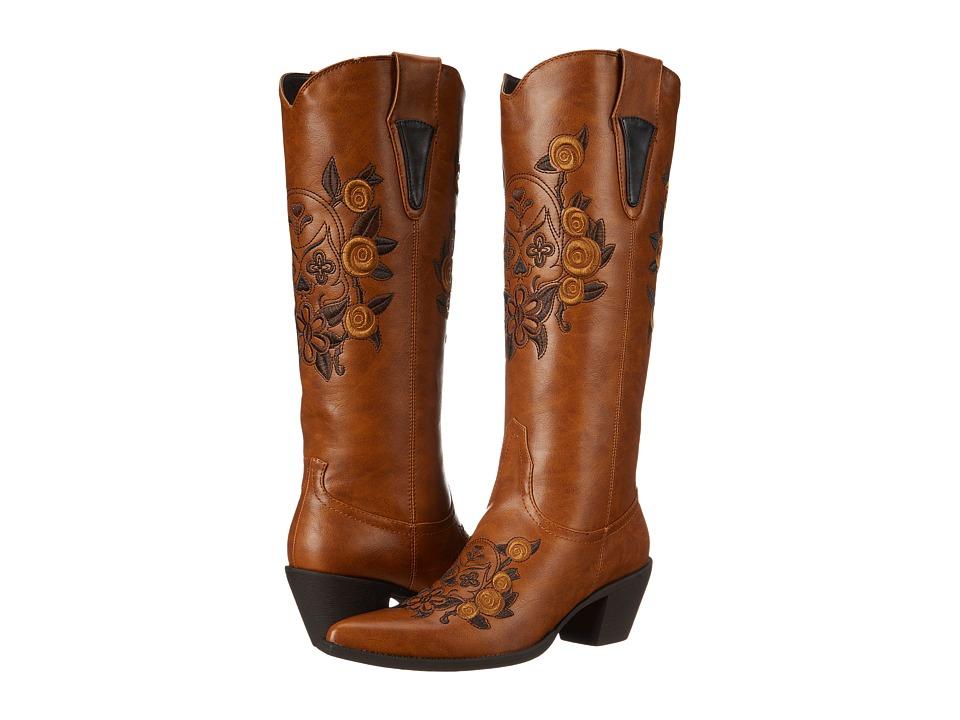 Roper Dawn (Tan) Cowboy Boots